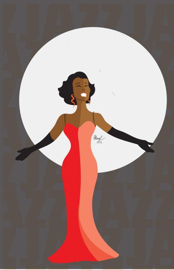 Whitney Houston virtual paint party