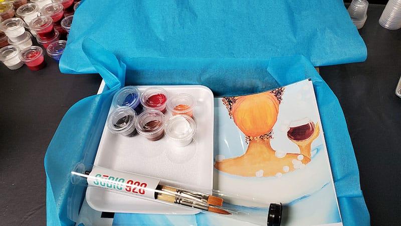 virtual paint party paint supplies oak park il