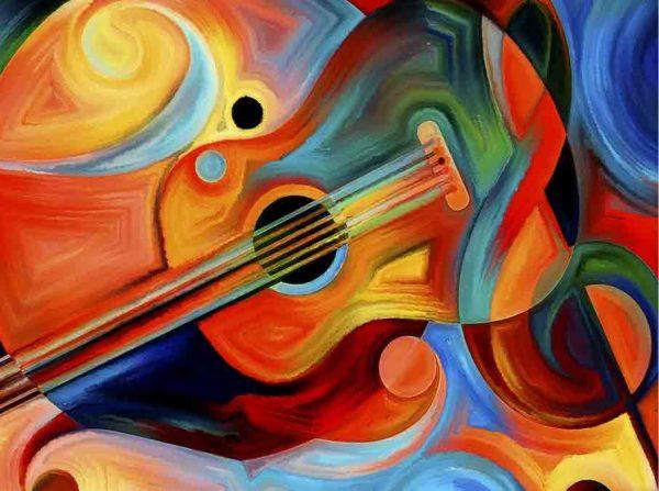 guitar-virtual paint party oak park