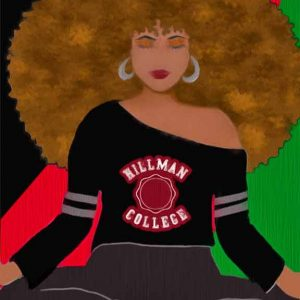 beautiful black girl college student different world hillman college