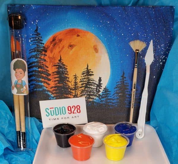 sample time for art kit
