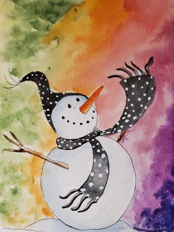 Virtual Paint Party LGBQT SnowX