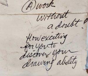 Betty Mocek Note